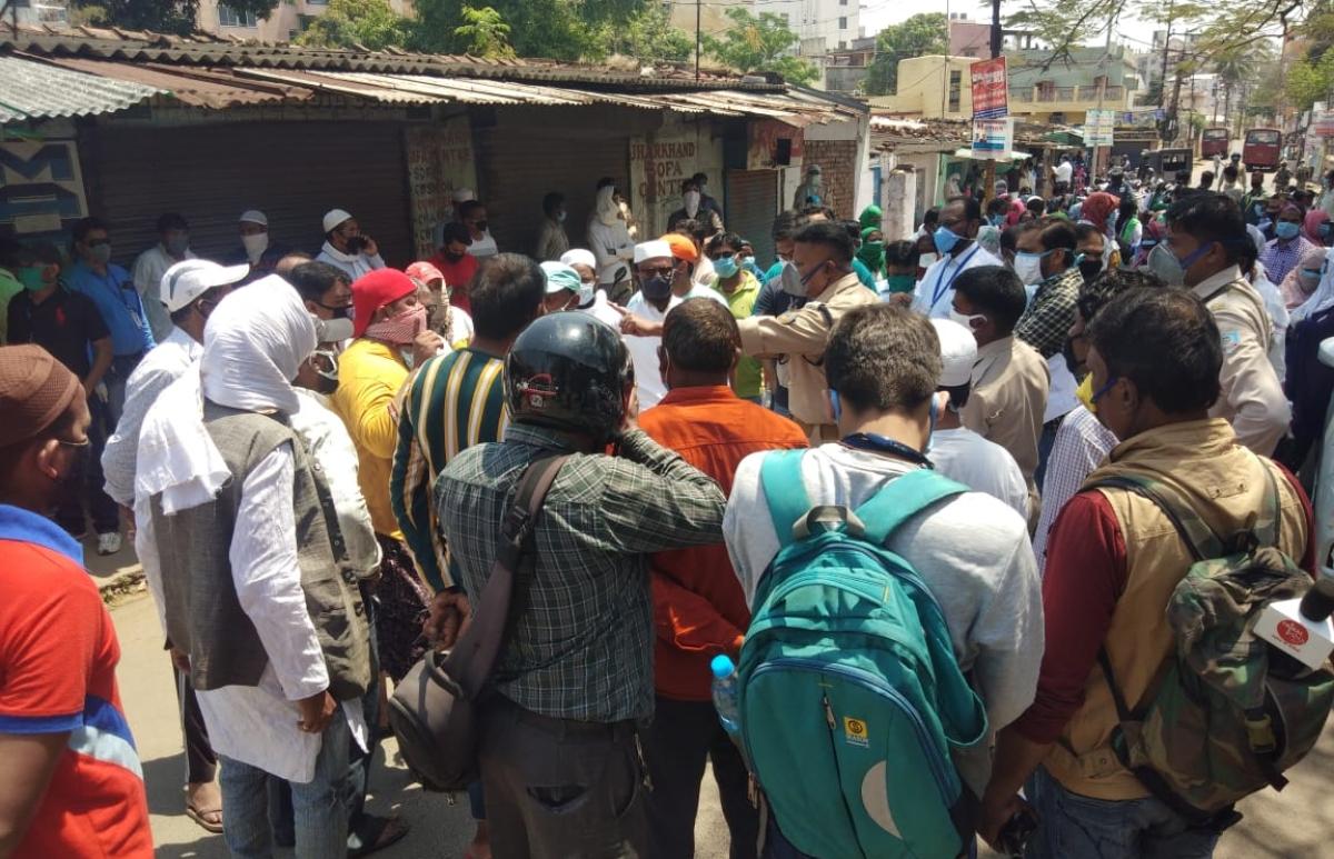 Coronavirus Lockdown Jharkhand LIVE:  रांची में कोरोना की जांच करने पहुंची मेडिकल टीमों को हिंदपीढ़ी में घुसने से रोका, लोगों ने किया हंगामा