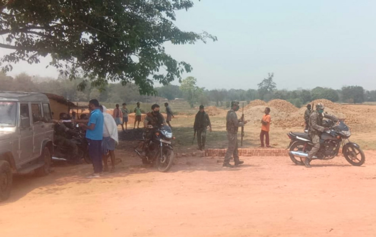 लॉकडाउन कानून का उल्लंघन करने पर ईंट भट्ठा मालिक के खिलाफ प्राथमिकी दर्ज