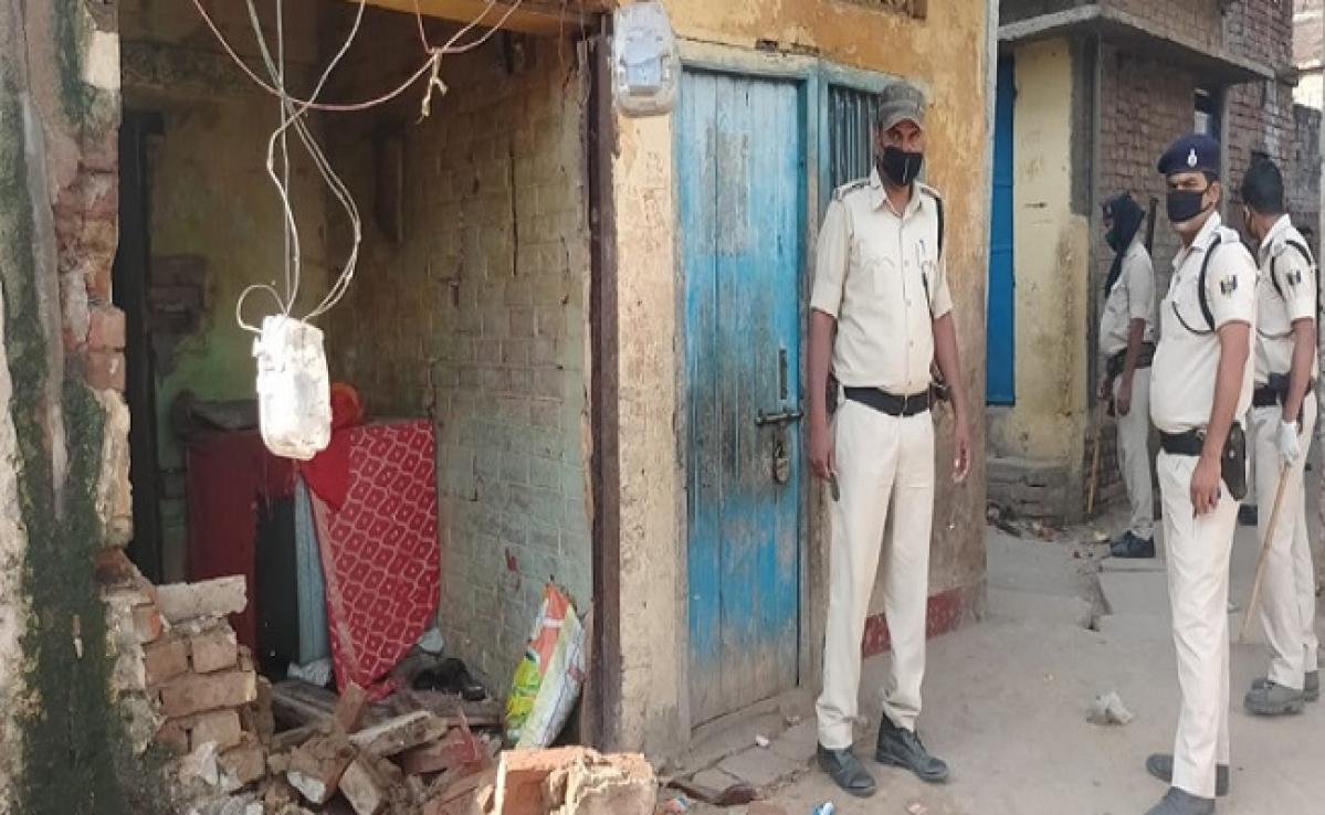 भोजपुर में सिलेंडर फटने से चार जख्मी, पटना रेफर