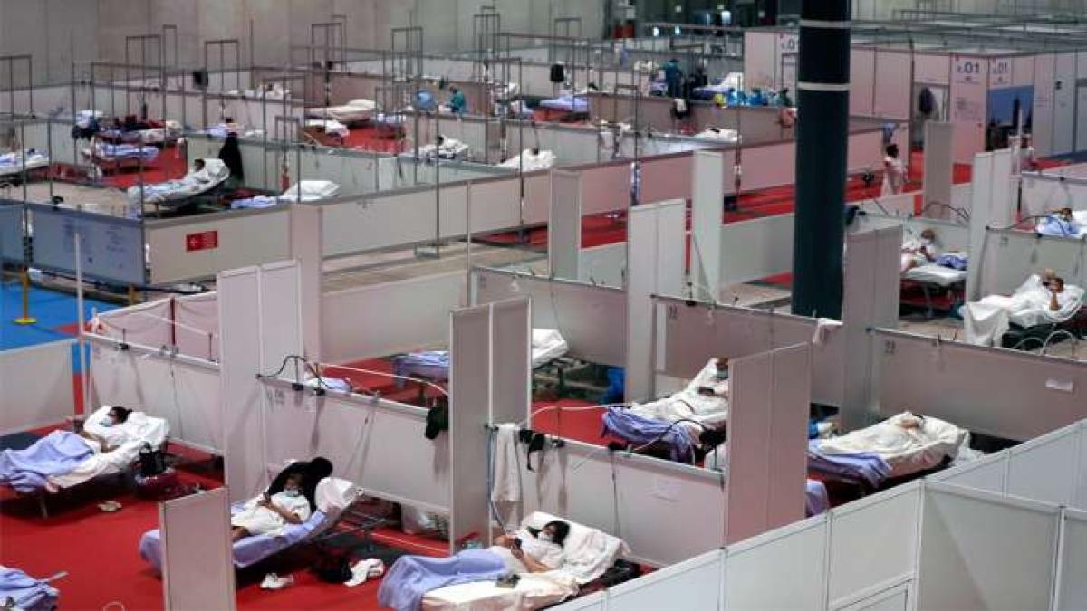coronavirus : अमेरिका-स्पेन के छूट रहे हैं पसीने, कोरोना वायरस से मरने वालों की संख्या 50,000 पार