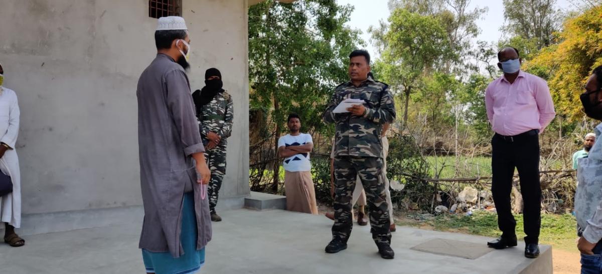 Coronavirus Pandemic: झारखंड की एक और मस्जिद के पास से 15 धर्म प्रचारकों को पुलिस ने किया क्वारेंटाइन