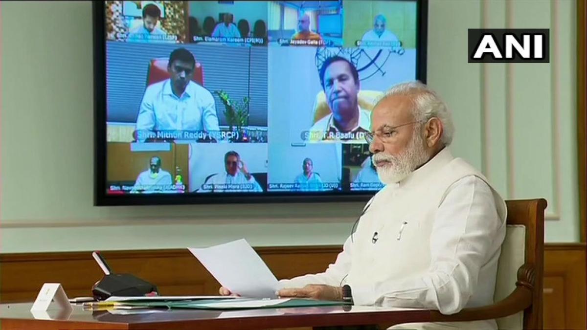 स्थिति 'सामाजिक आपातकाल' जैसी विपक्षी दलों के साथ बैठक में बोले पीएम मोदी