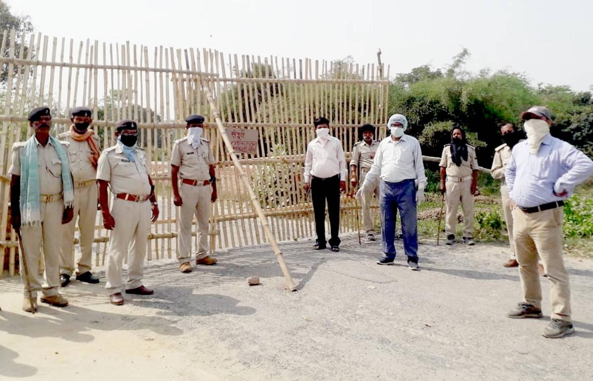 Coronavirus Lockdown Bihar : सीवान  और बेगूसराय के हॉट स्पॉट क्षेत्र समेत बिहार में बीएमपी-सैफ की 10 कंपनियां तैनात
