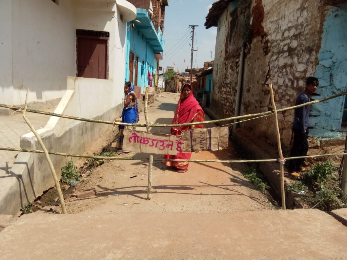Coronavirus Lockdown Jharkhand LIVE: लॉकडाउन को सफल बनाने के लिए यहां महिलाओं ने कमर कसी