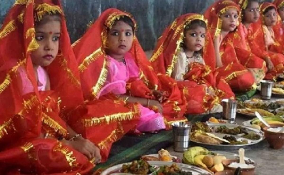 Durga Ashtami 2020 : आज पूजी जाएंगी कन्याएं,जानें कन्या पूजन की विधि और शुभ मुहूर्त