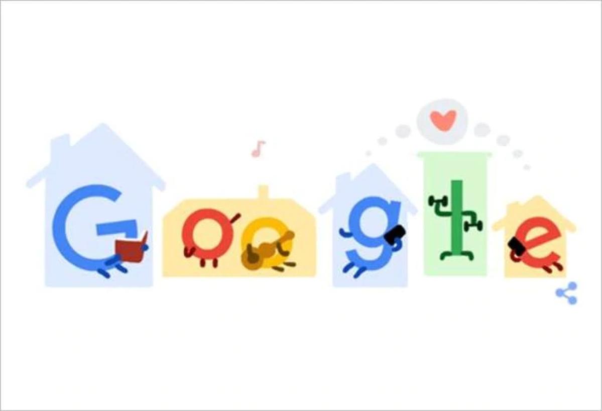 कोरोना वायरस की रोकथाम के लिए गूगल ने डूडल बनाकर दी जानकारी