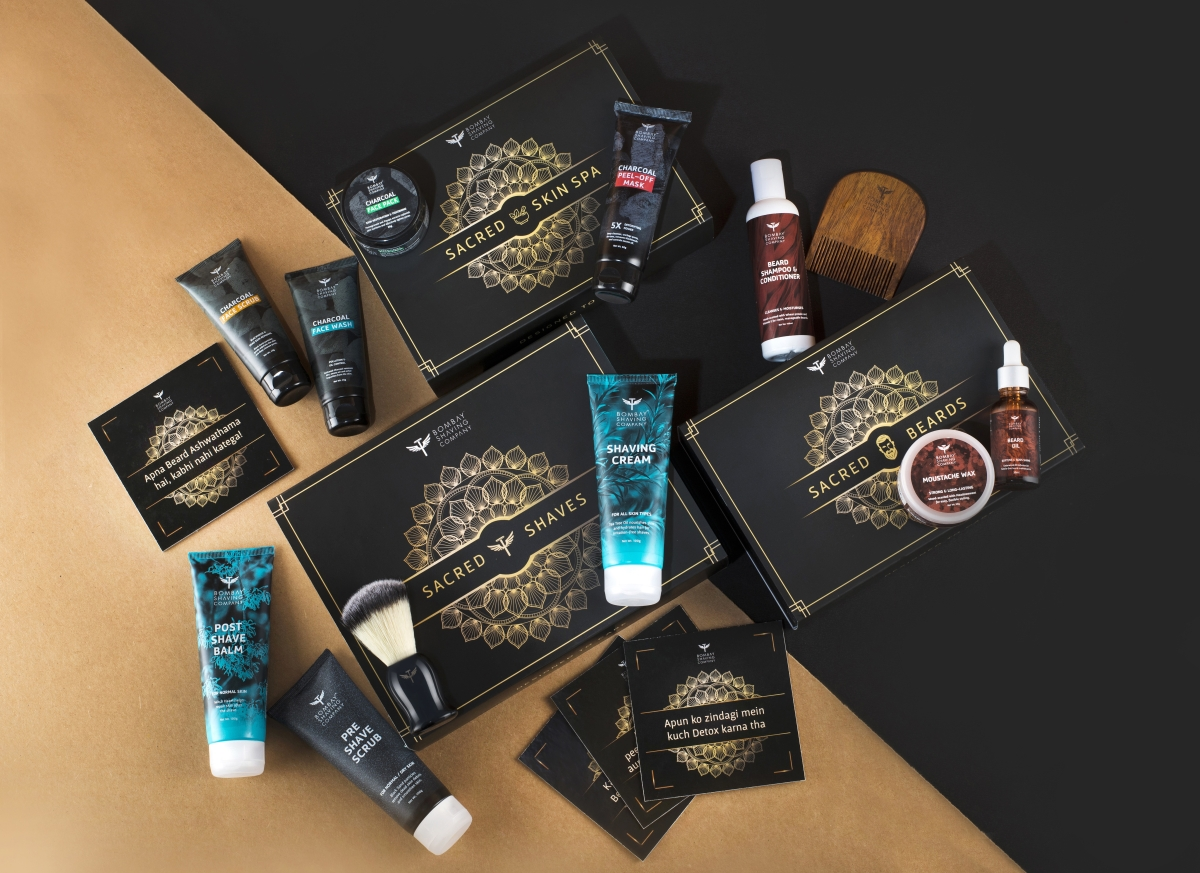 Sacred Games themed customised grooming kit by Bombay Shaving Company