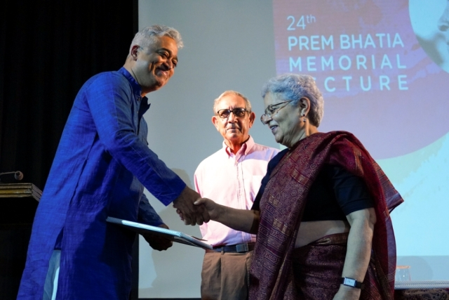 India Today's Rajdeep Sardesai bags the prestigious Prem Bhatia Award for political reporting