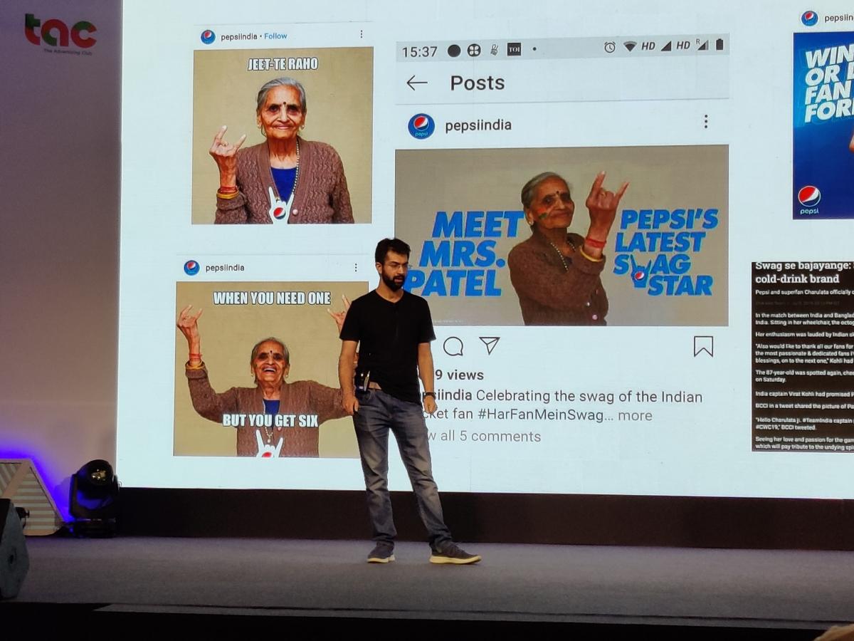 Karan Bedi on a campaign he admires