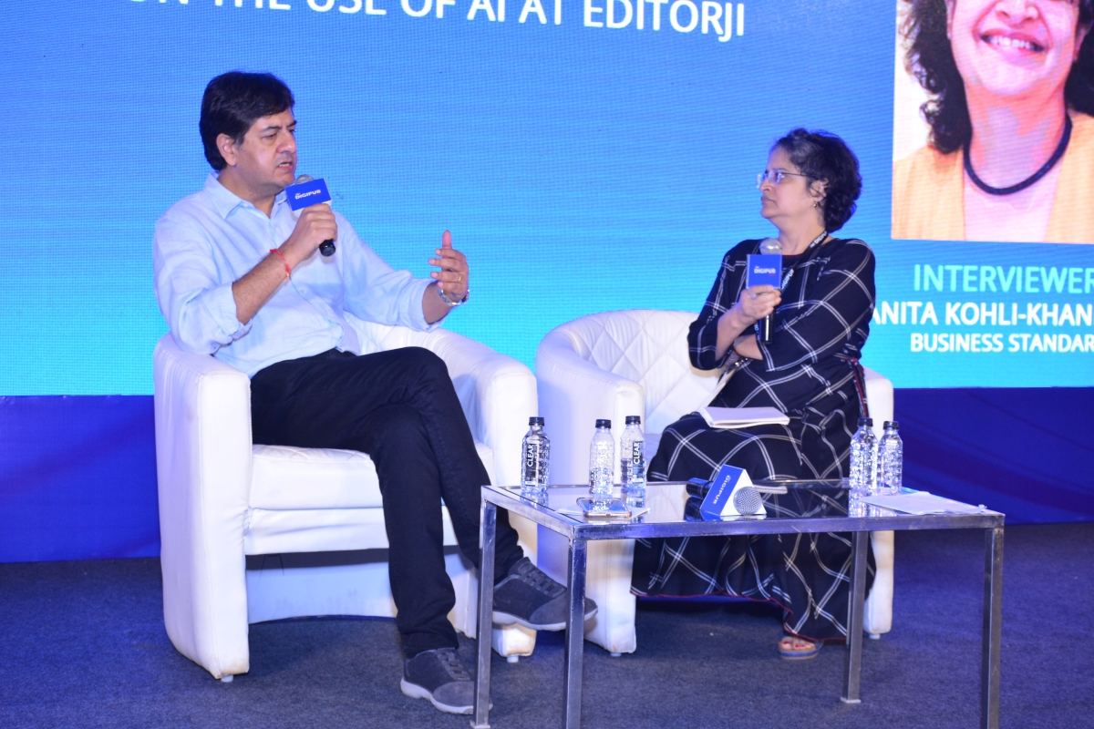 Vikram Chandra and Vanita Kohli-Khandekar