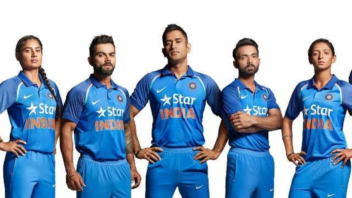 Star India sponsored jersey