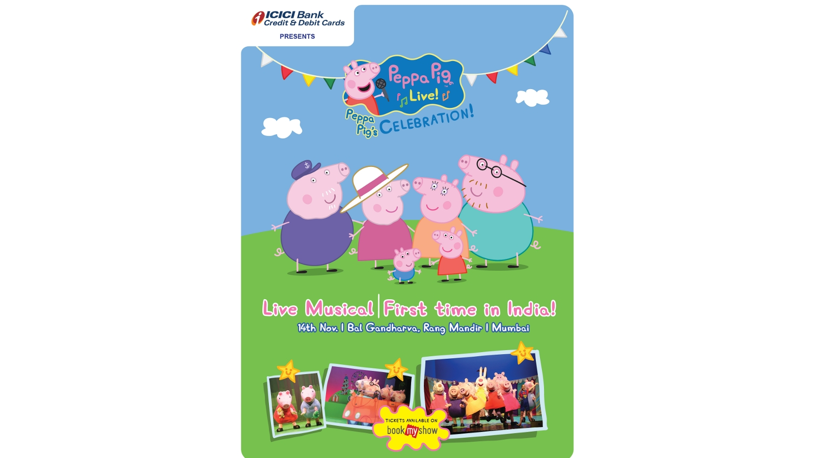 live viacom18 and bookmyshow join hands to bring  u2018peppa