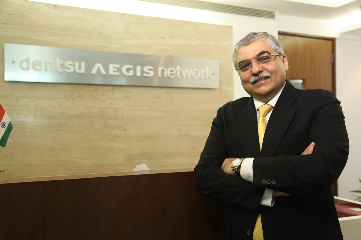 Ashish Bhasin, CEO APAC and Chairman India – Dentsu Aegis Network