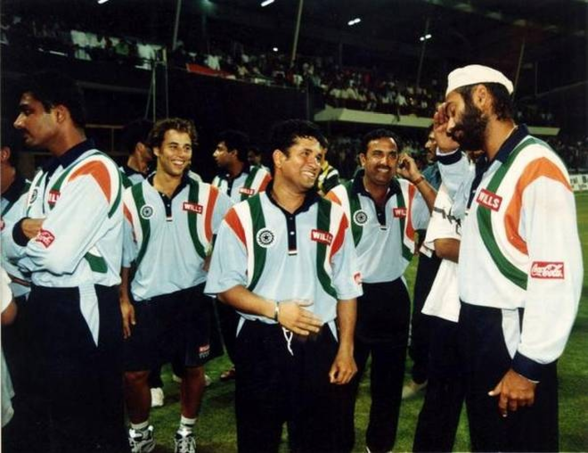 As BYJU'S replaces OPPO as official sponsor for Indian cricket...
