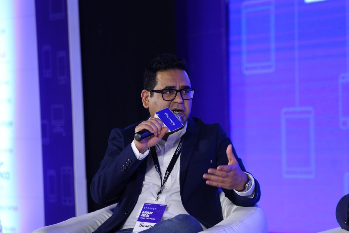 Gaurav Arora, VP and Chief Revenue Officer at Jagran New Media