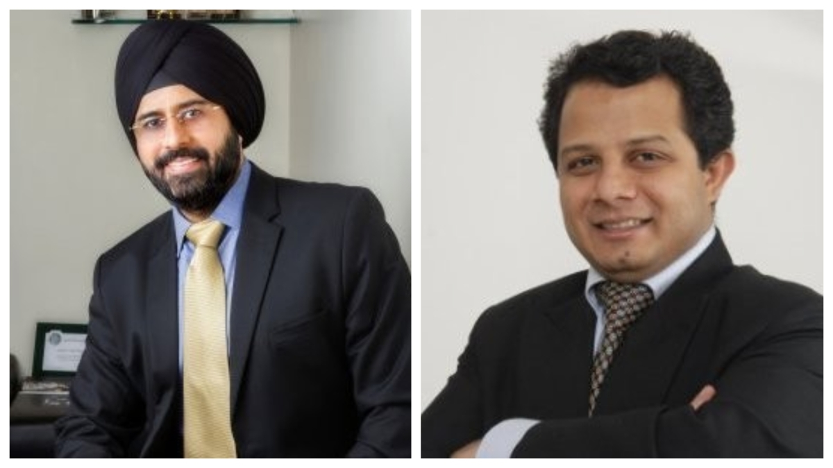 L-R Gurjeev Singh Kapoor and Deepak Jacob