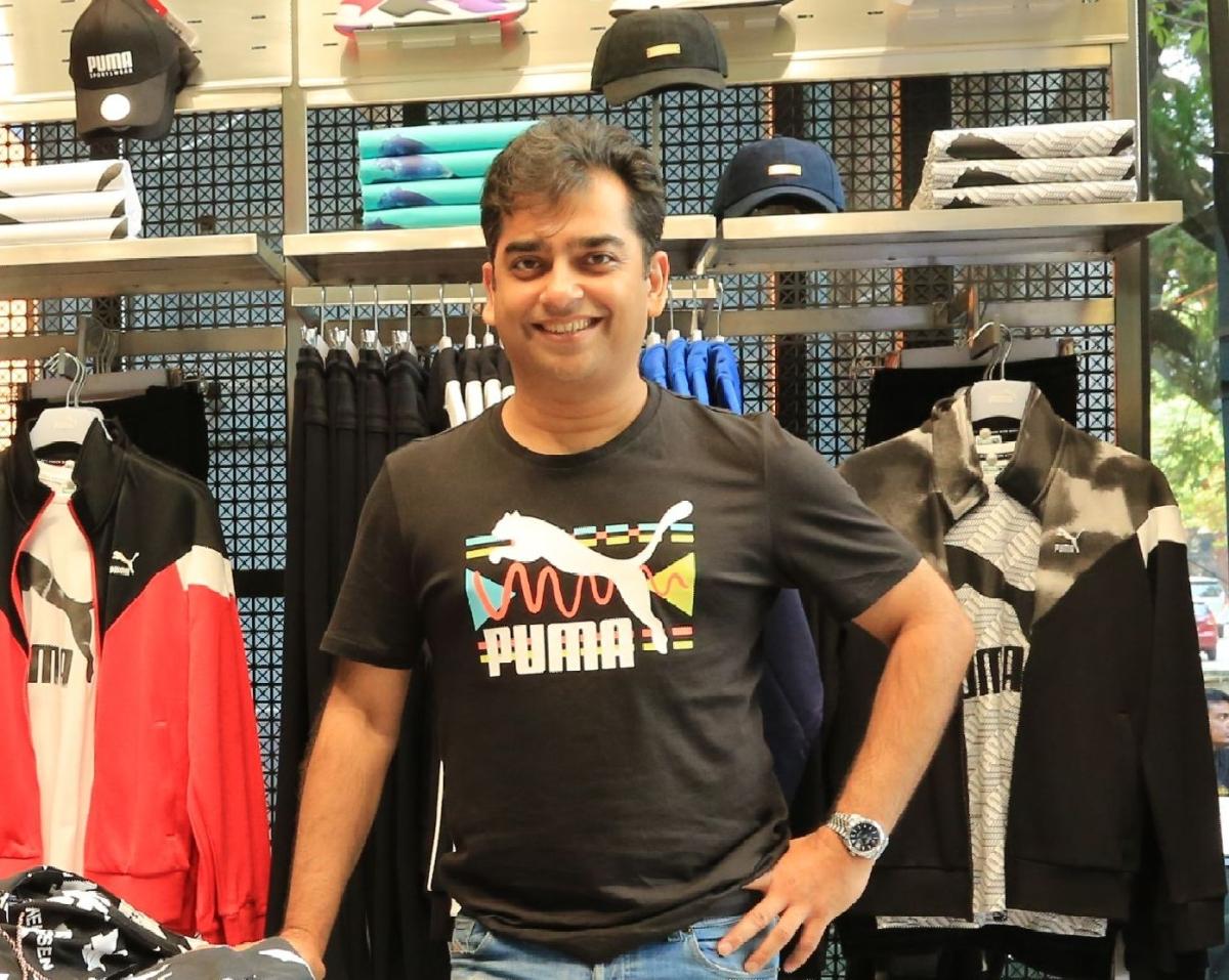 Abhishek Ganguly, managing director, PUMA India.