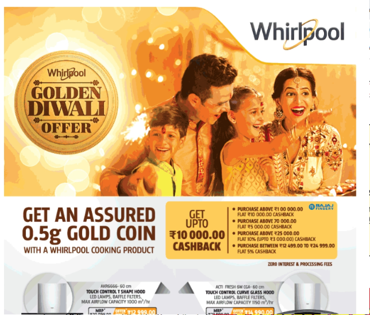 Whirlpool ad on page 7
