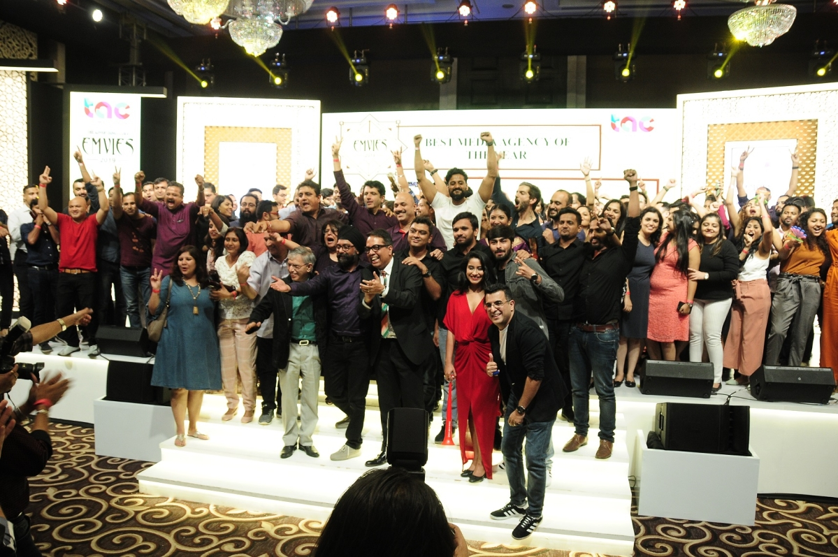 Mindshare team wins media agency of the year