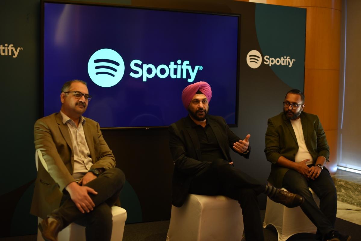 (L-R) Tushar Vyas, Amarjit Singh Batra, Arjun Kolady