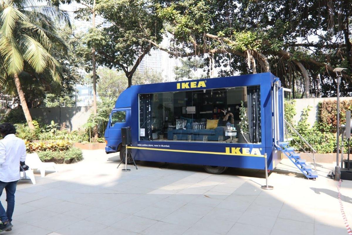 'IKEA on Wheels' truck