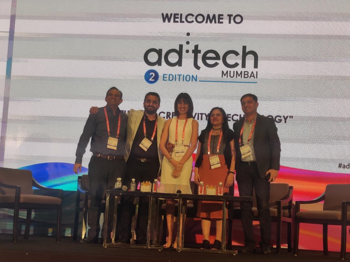 (From L to R) Puneet Gupt, Neel Pandya, Rubeena Singh, Shweta Srivastava, Vishal Parekh