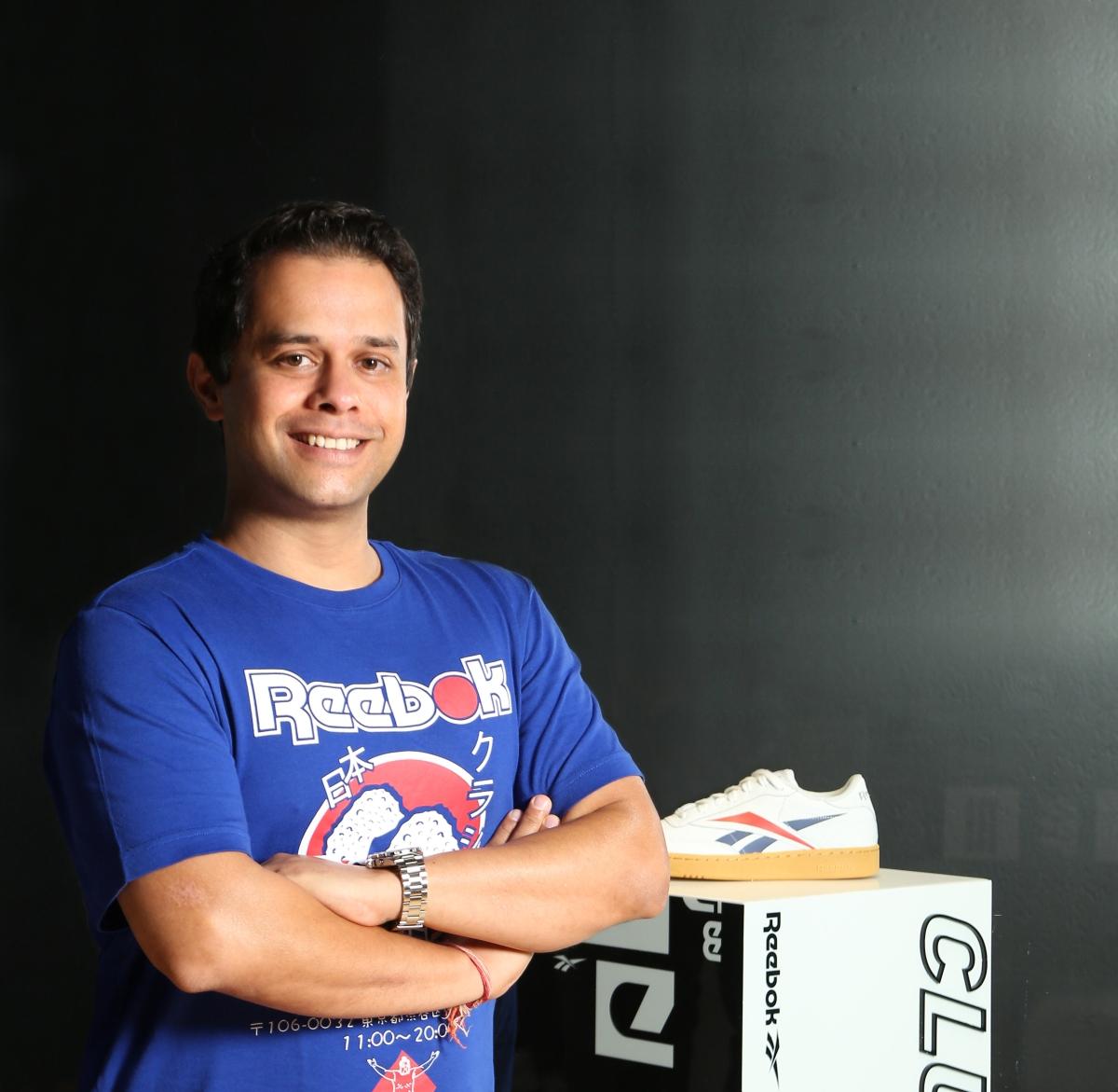 Sunil Gupta, brand director, Reebok India