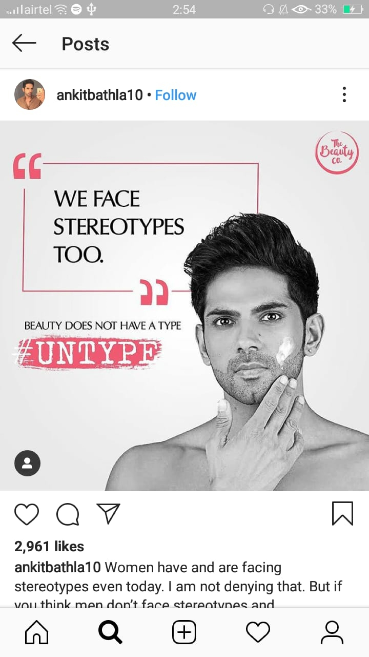 Yet another brand busts beauty myths