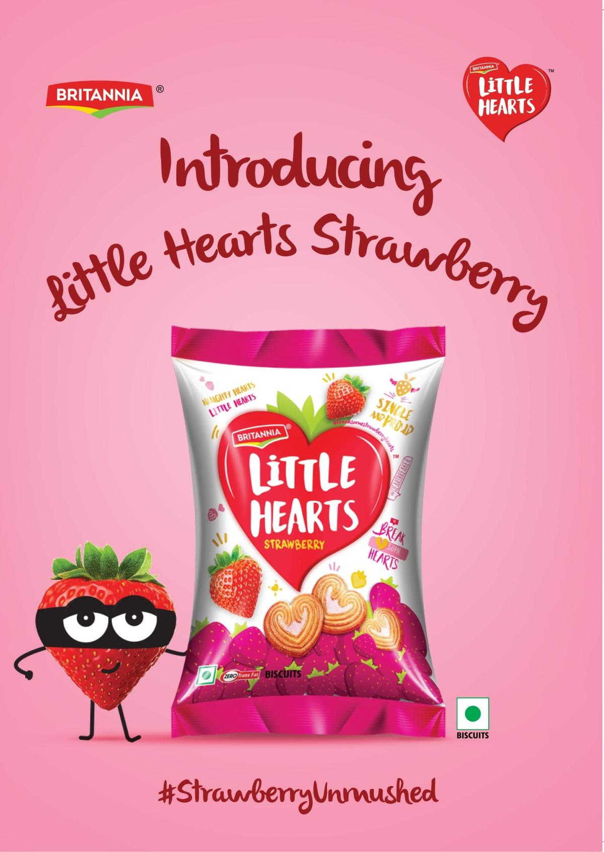 Britannia gets 'Ninja' to push Strawberry variant of Little Hearts