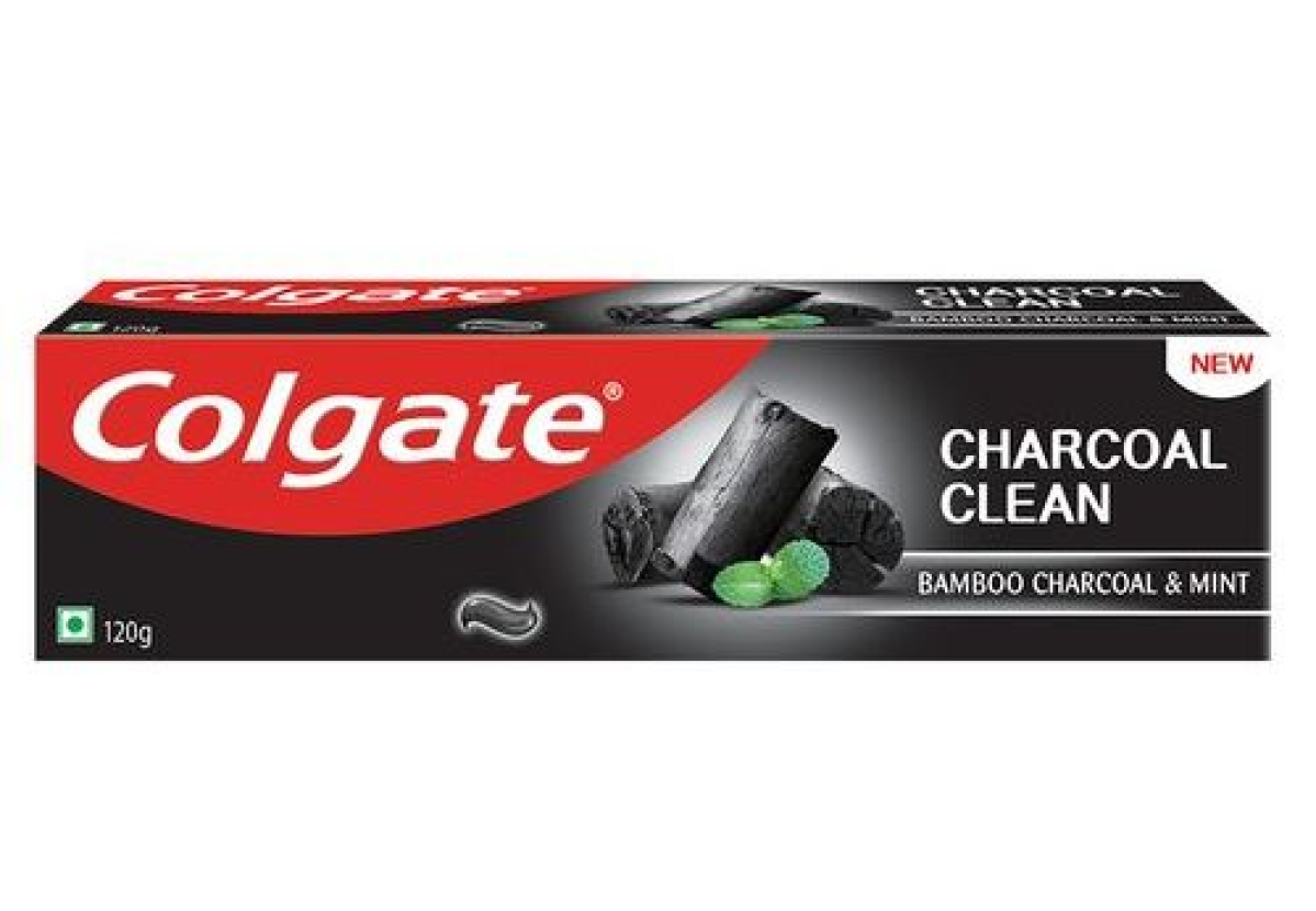 Colgate's charcoal variant