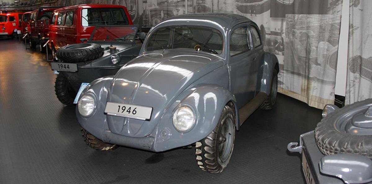 VW Kommandeurwagen - one of the older models of the Beetle