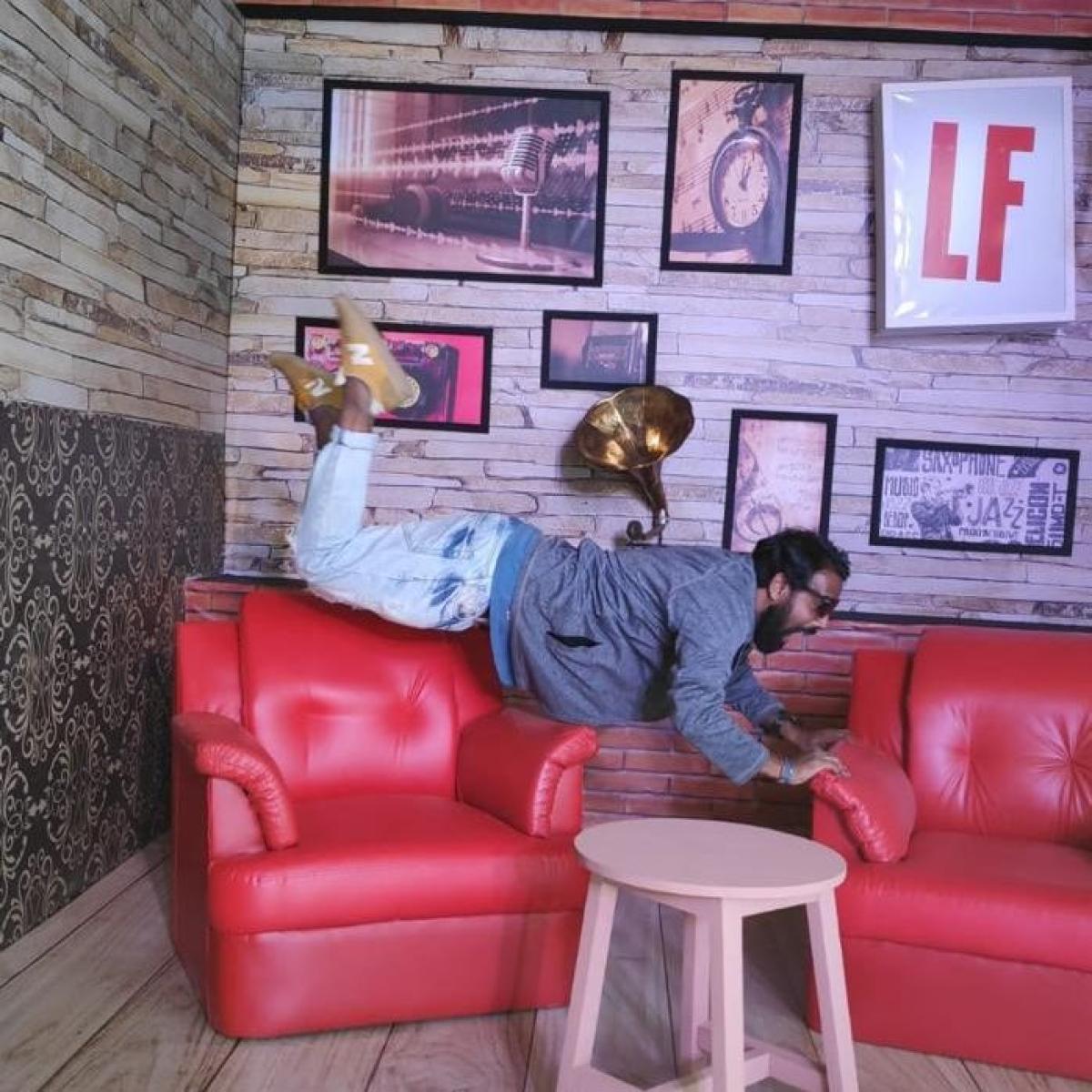 LF's zero gravity booth at Sula Fest 2019