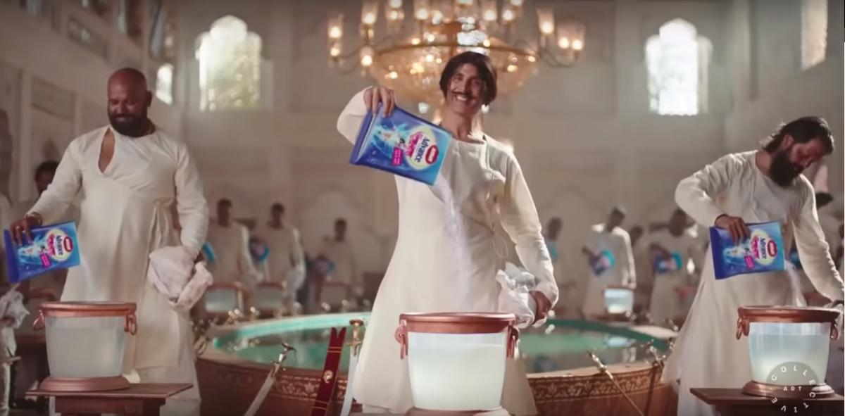 A still from Nirma's ad film