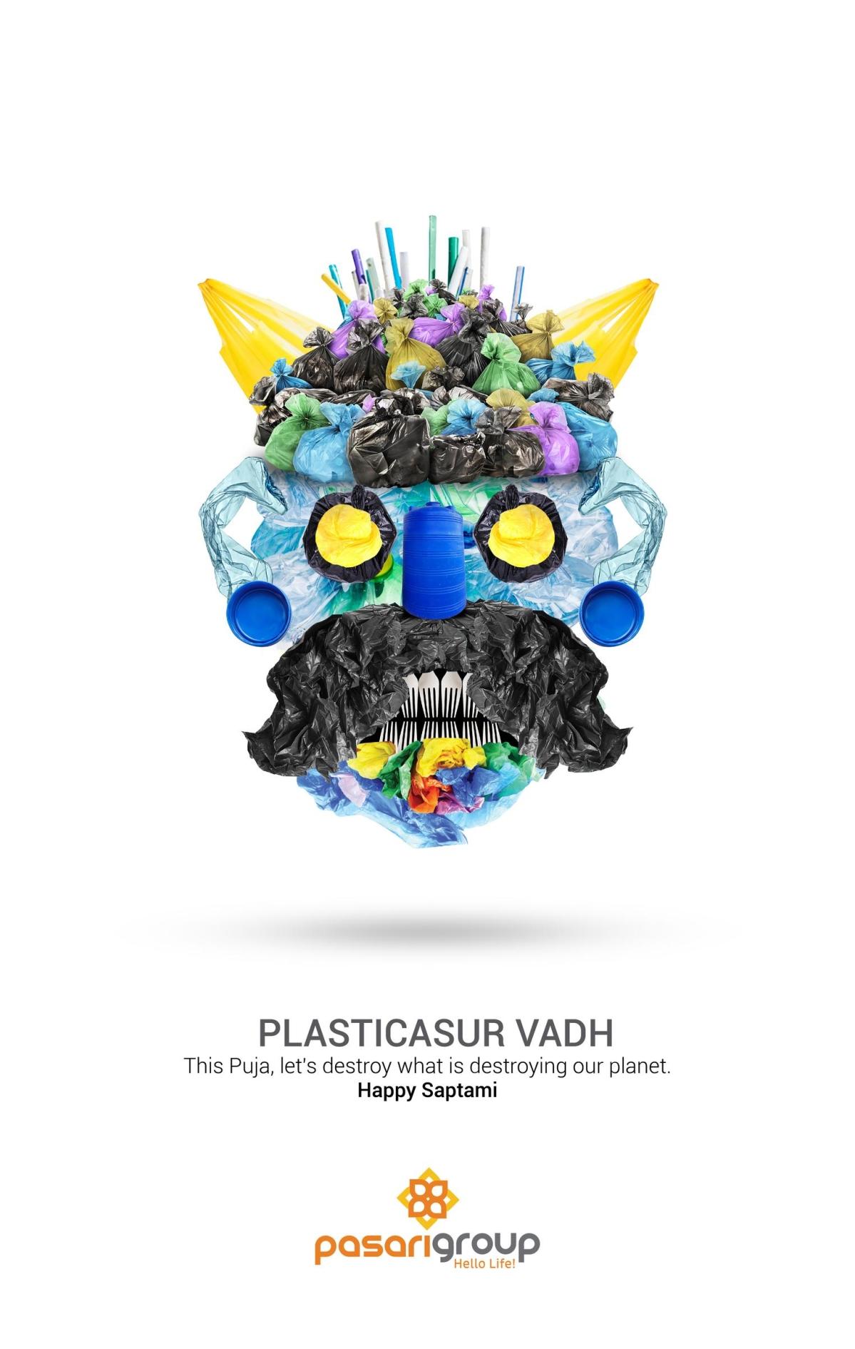 Destroy pollution in a creative way