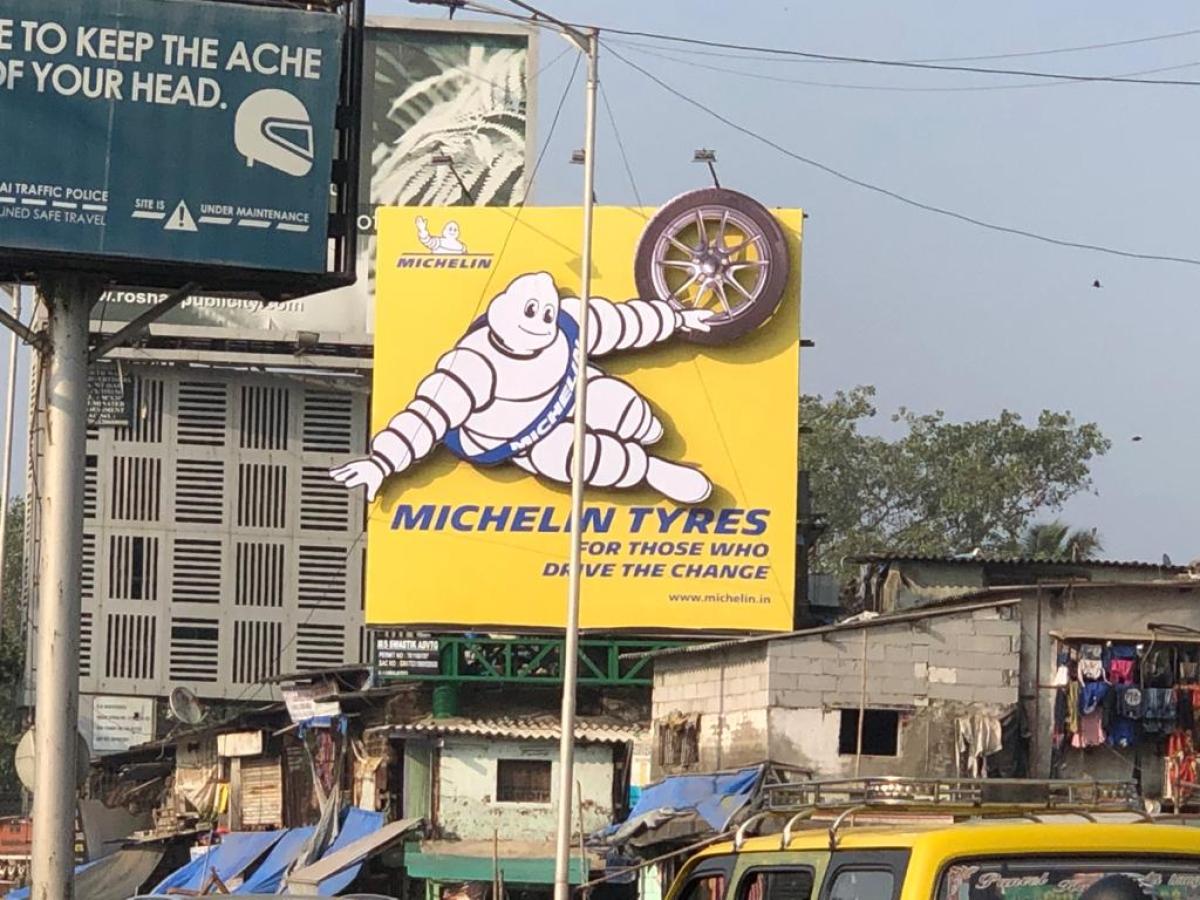 Michelin Man reappears on Indian OOH landscape