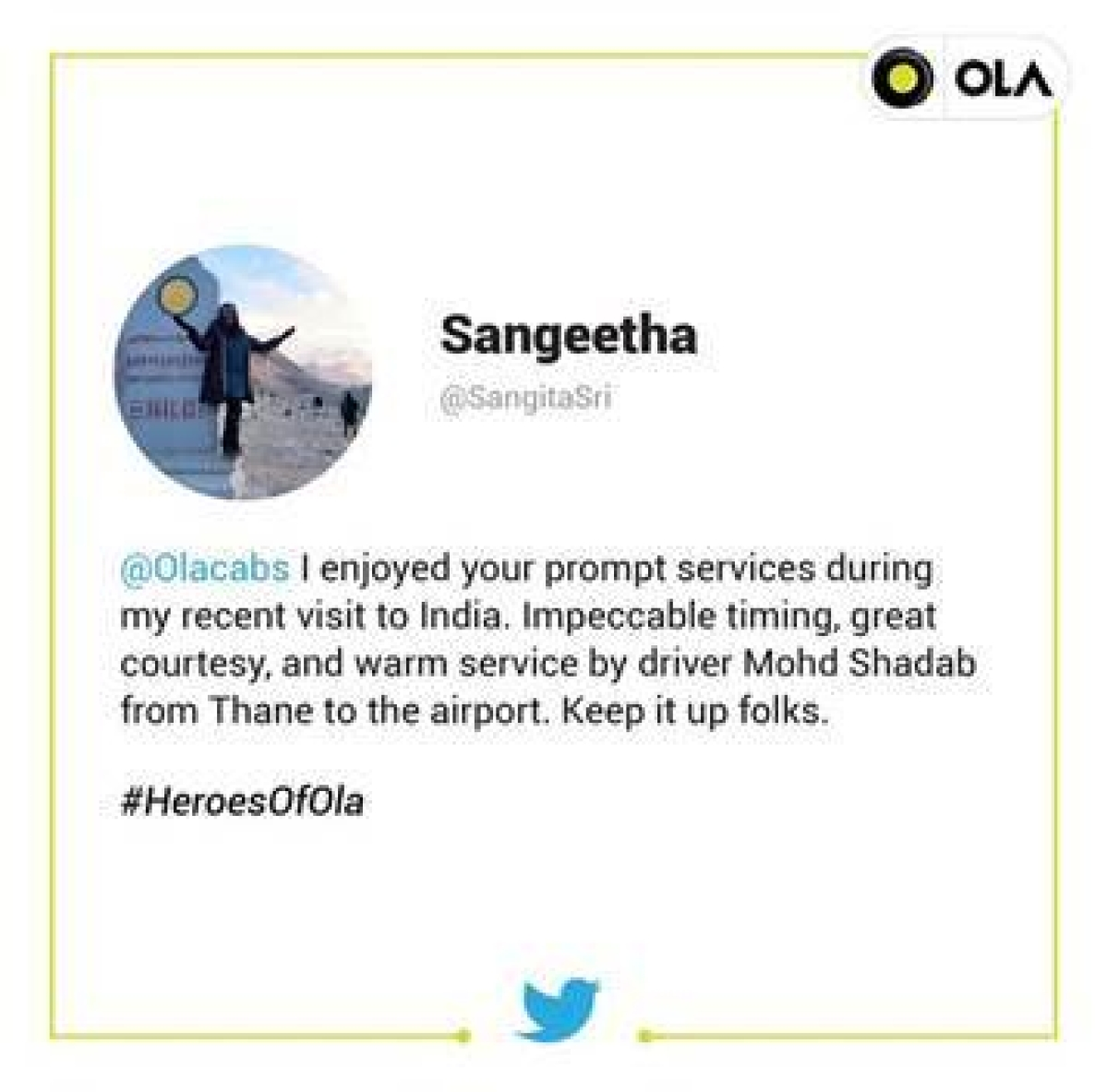 Ola salutes driver partners in new campaign