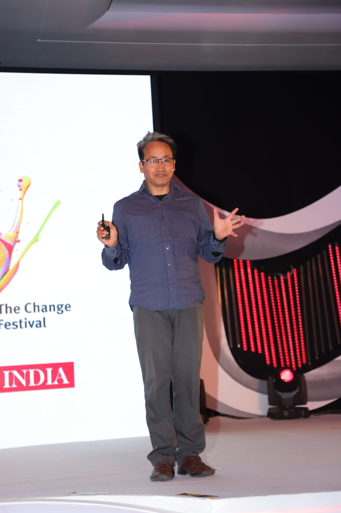 """Simplicity is the best way to live"": Sonam Wangchuk"