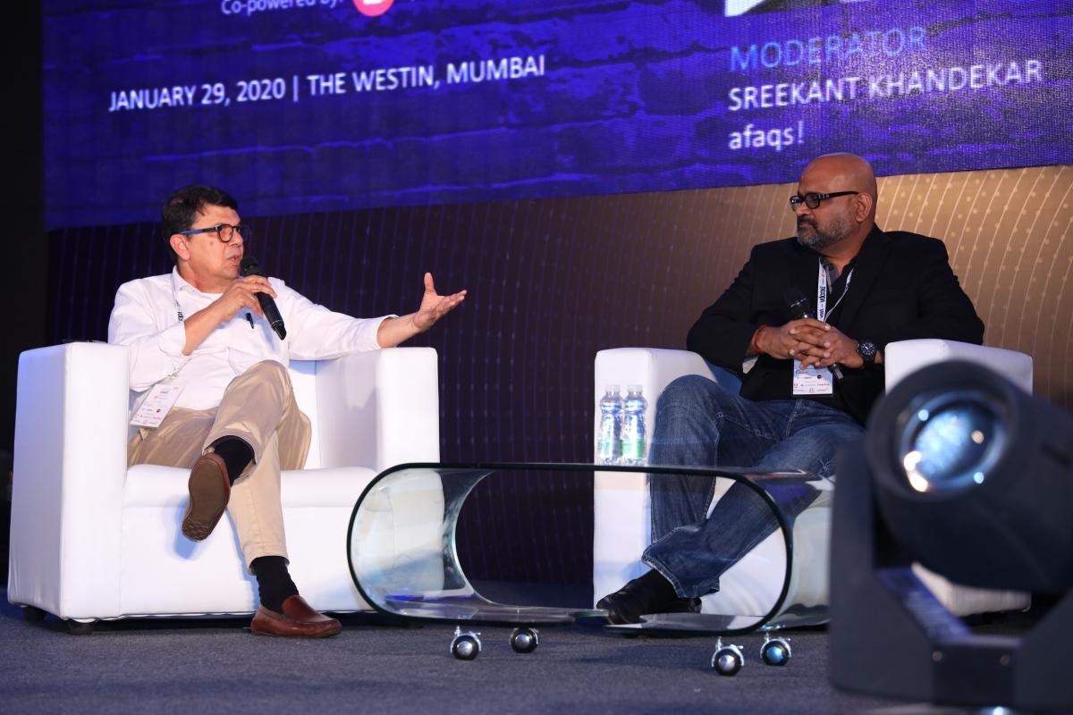 (L) Sreekant Khandekar and Dilip Venkatraman (R)