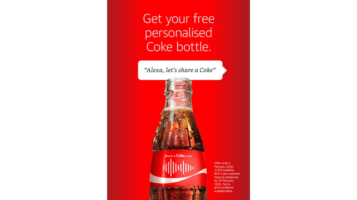 Ogilvy's Australia campaign with Alexa and Coca Cola