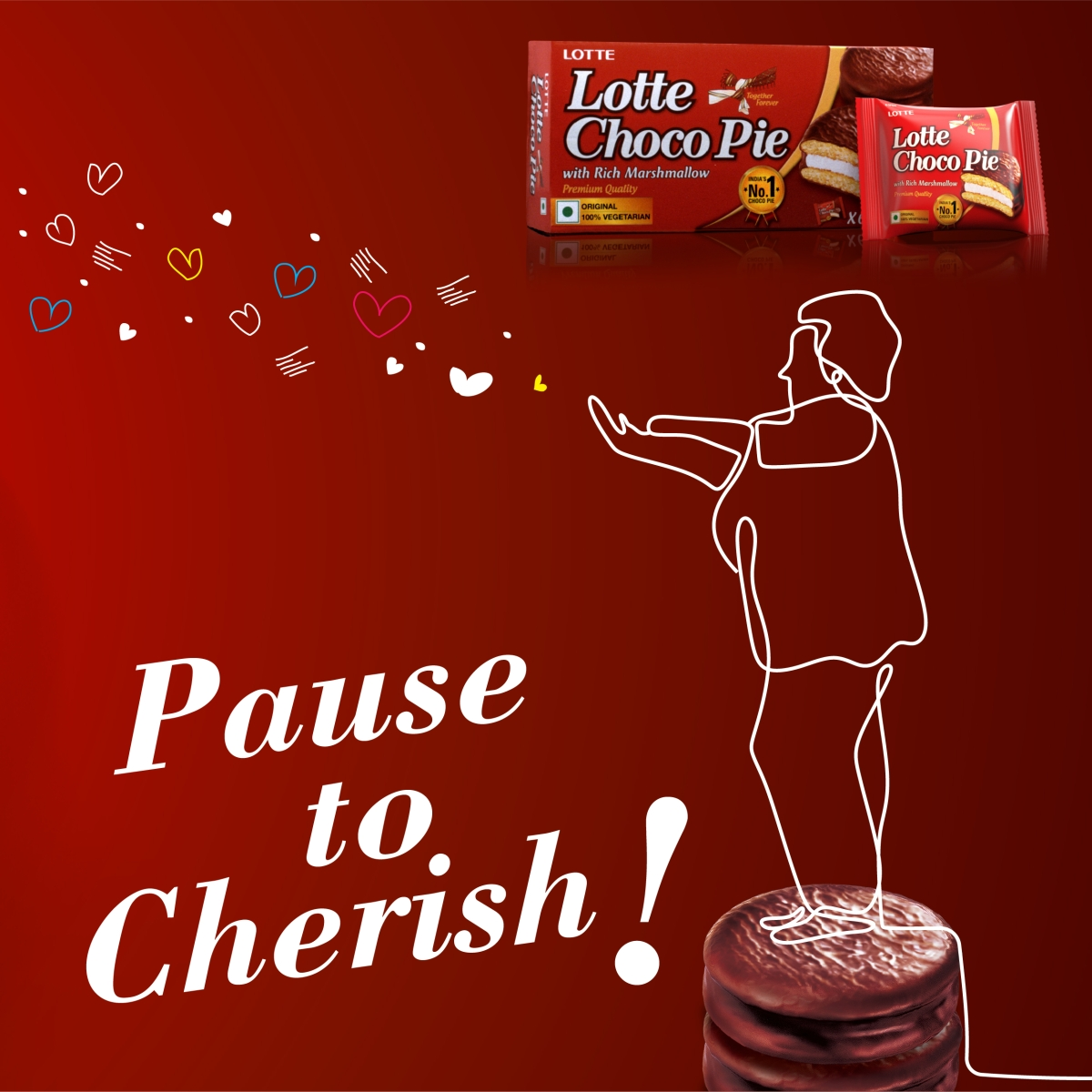 Lotte Choco Pie Creates First-Ever Valentine's Day campaign
