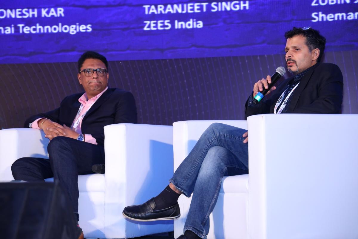 Taranjeet Singh (L), Jimmy Dubhash (R)