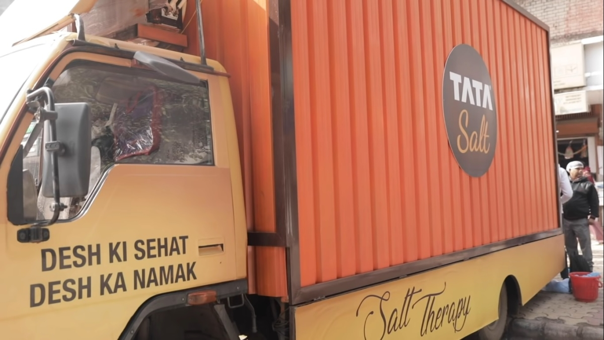 Tata Salt's new act: Salt Therapy on a truck