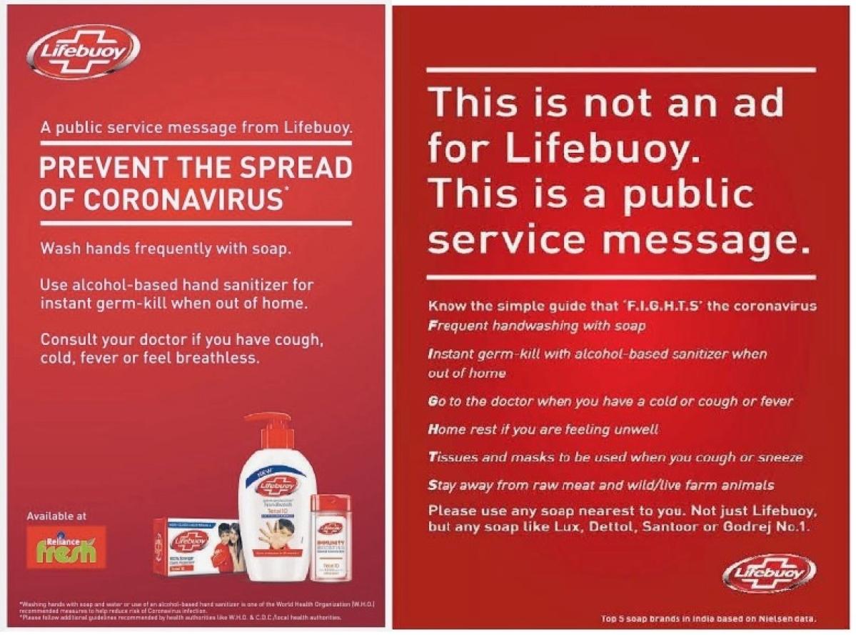 Lifebuoy print ad