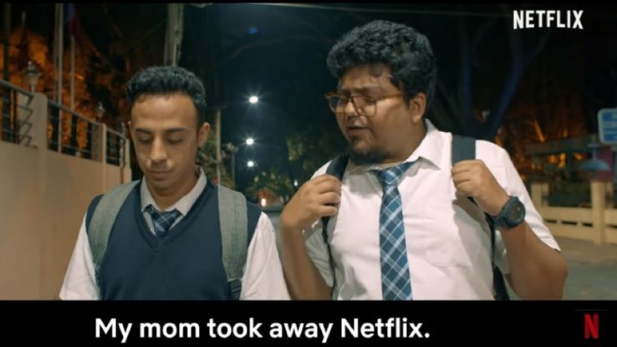 Jordindian and Netflix India collab and time-travel to stop exams