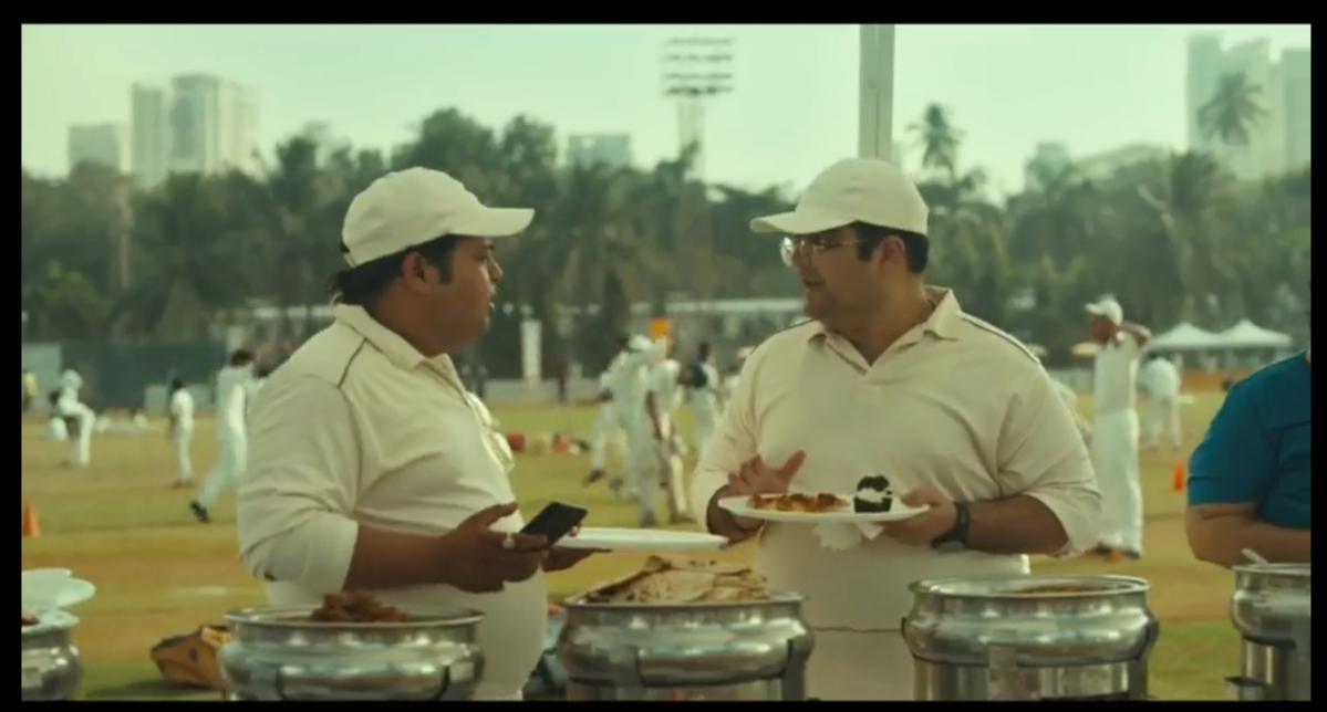 Screen grab from cricket ad