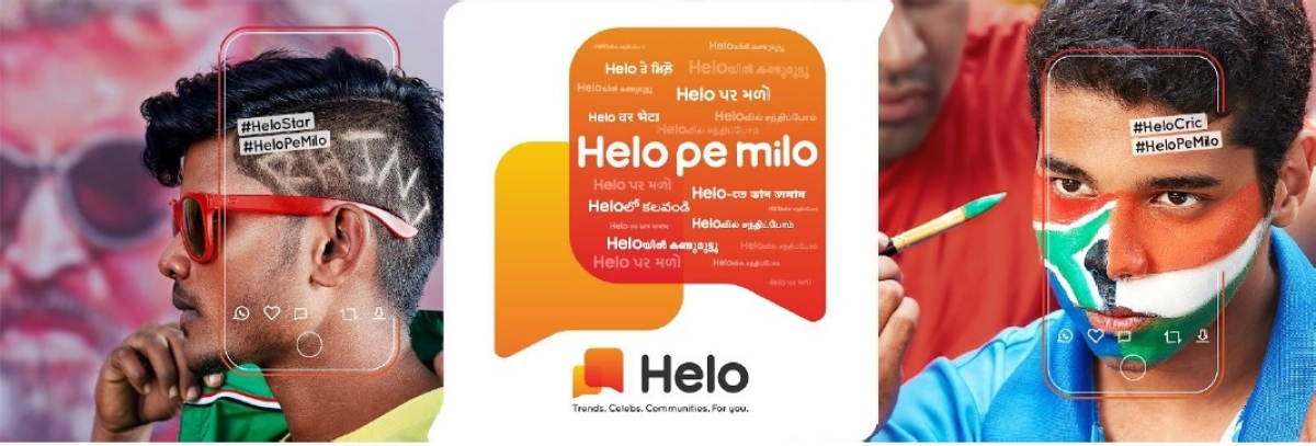 Celebrities, cricket and non-English content – Helo's potent mix for India