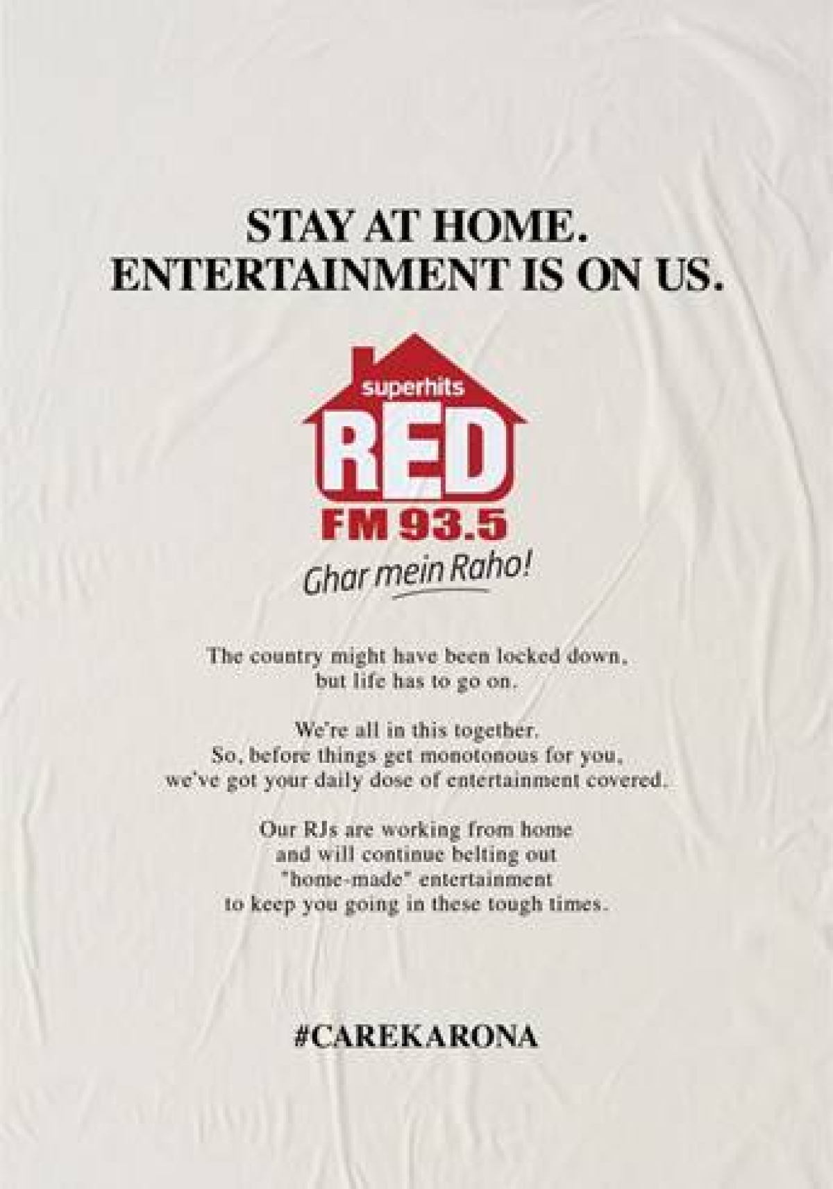 RED FM promises to supply unlimited entertainment