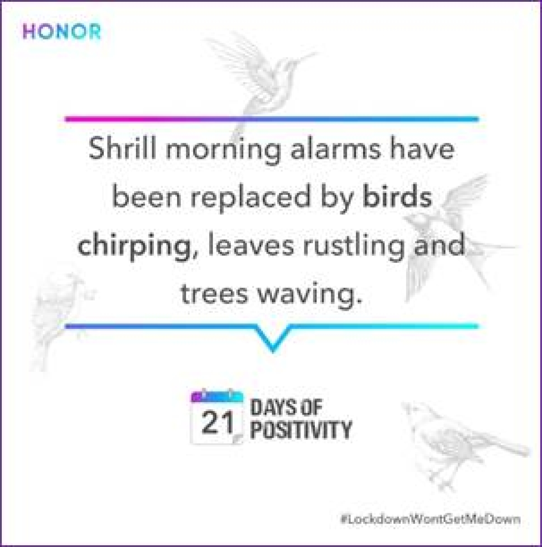 HONOR India encourages '21 Days of Positivity' through social media initiative