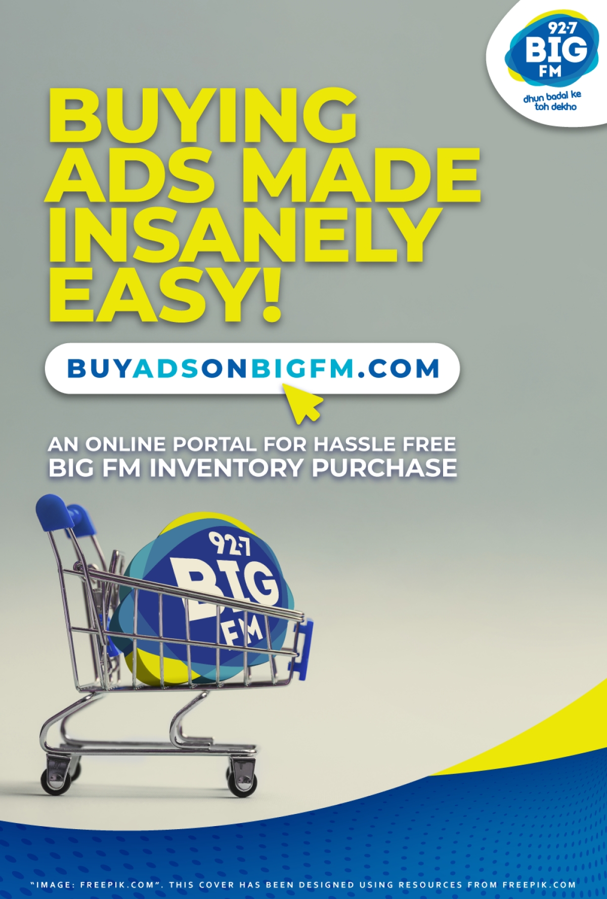 BIG FM's pioneering self-service platform 'BuyAdsOnBigFM.com'