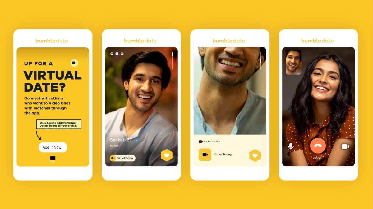 Bumble launches 'virtual dating' feature to help users cope with isolation